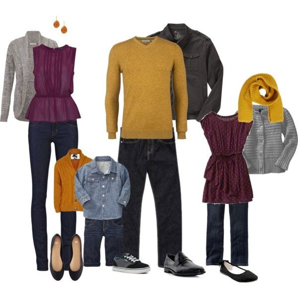 Outfit Ideas For A Fall Family Photo Session Erin Usawicz